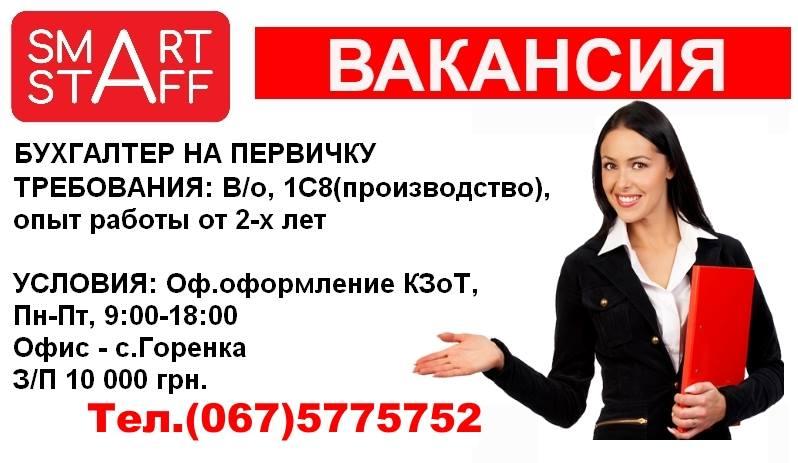 Вакансия бухгалтер на дому челябинск услуги по ведению бухгалтерского учета называются