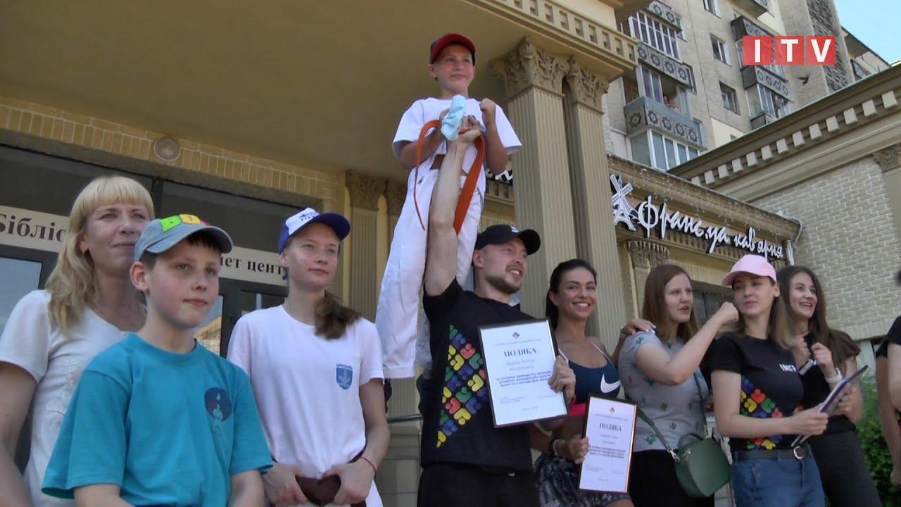 У День молоді в Ірпені провели руханку